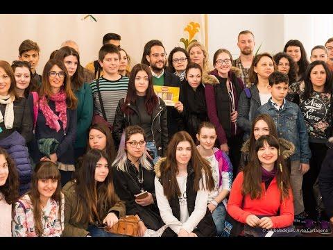 Jóvenes extranjeros visitan Cartagena gracias al programa de intercambio del colegio Salesianos