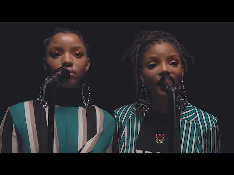 Chloe x Halle - Cool People - Official Music Video (Live)
