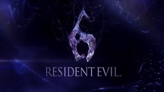 Resident Evil 6 Main Menu