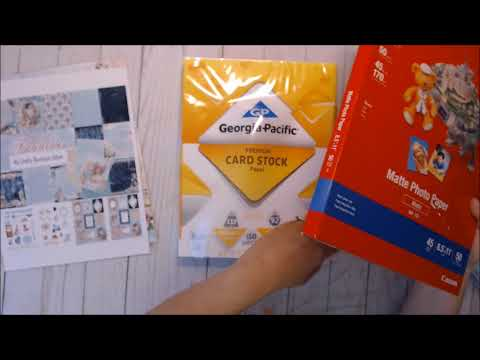 Fabulous Pocket sized TN Tutorial & What I use (Paper)
