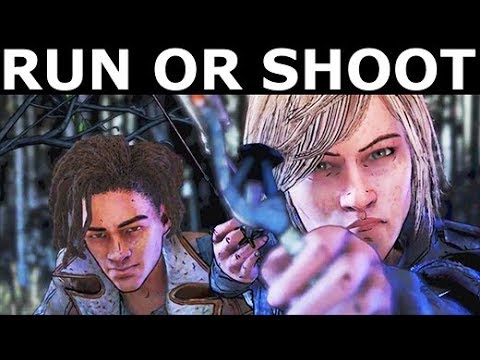 Tell Violet & Louis To Run Or Tell Violet To Shoot Lilly - The Walking Dead Final Season 4 Episode 2 #1