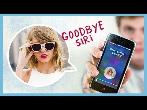 REPLACING SIRI WITH TAYLOR SWIFT