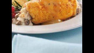 Bobbi's Kitchen - Crab Stuffed Chicken