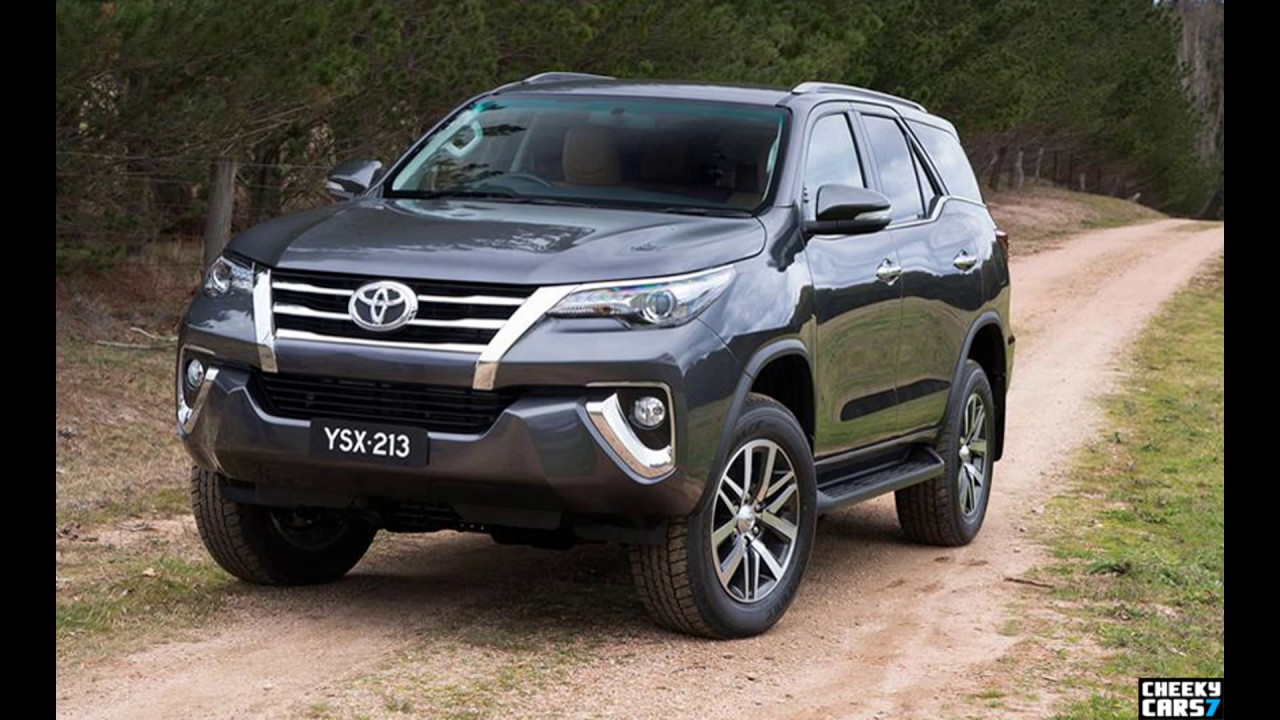 Toyota Fortuner 2016 Colours Youtube