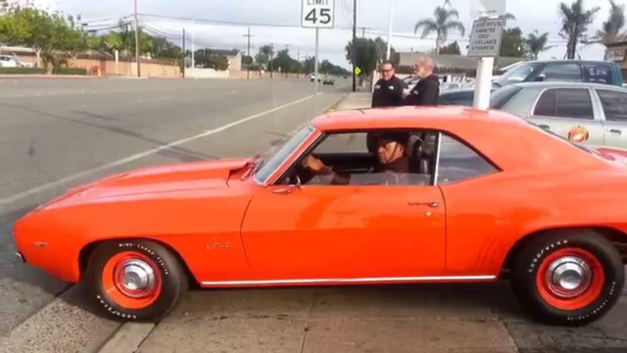 Don Hall Chevrolet >> Reggie Jackson and His 69/427 Orange Camaro - YouTube