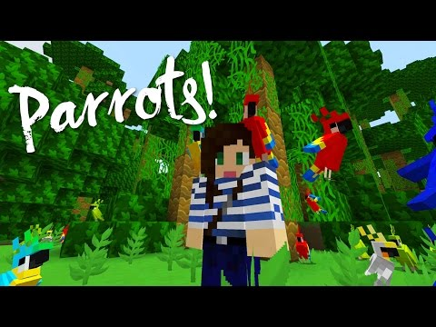 PARROTS ADDED TO MINECRAFT! – FIRST IMPRESSION