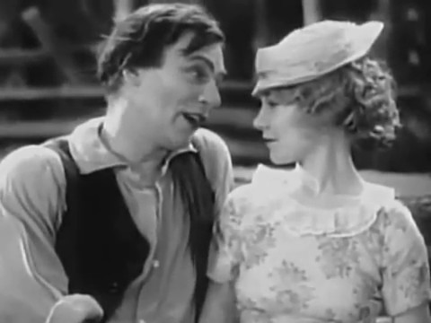 (1930) D. W. Griffith's Abraham Lincoln b&w Film Walter Huston Una Merkel