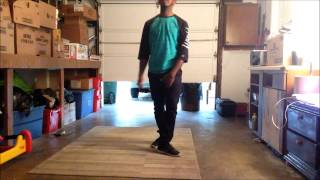 Chris Brown - New Flame Crunk Part Dance Tutorial