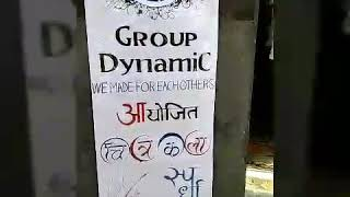 Drawing competition by group dynamic kamraj nagar