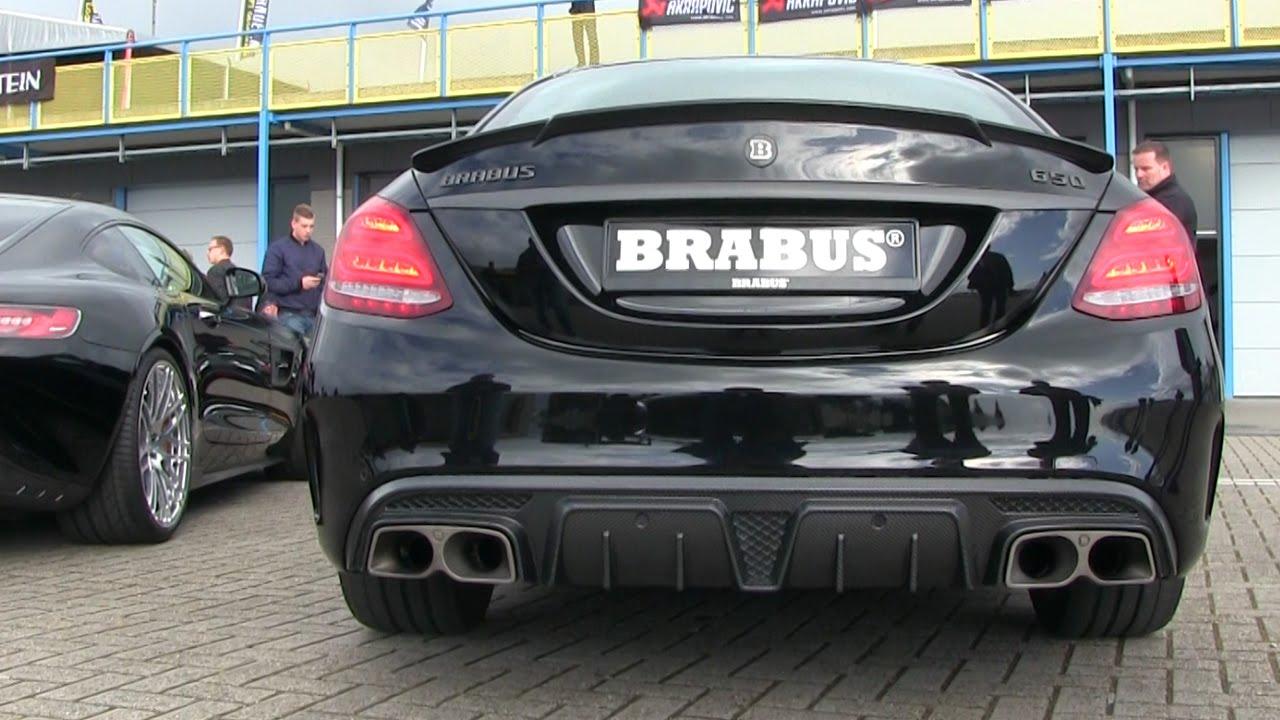 2016 Brabus 650 40 Biturbo V8 C63 S AMG  REVS  Detailshots