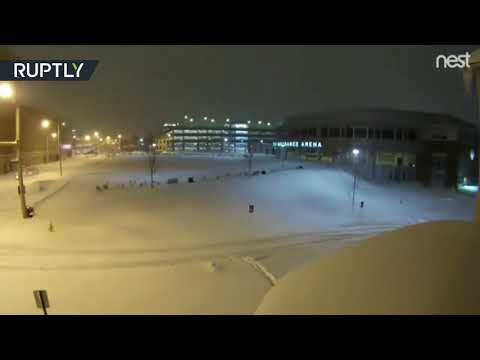 Let it snow: Record-breaking Pennsylvania blizzard captured in stunning timelapse