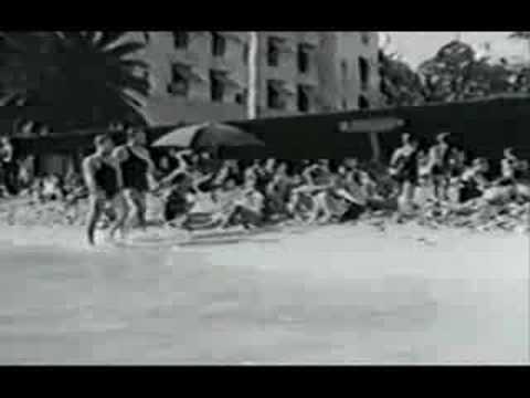 Waikiki - Traditional Hawaiian Surfing & native Life 1920s