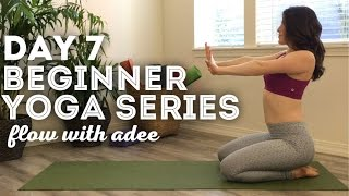DAY 7/30 Beginner Yoga Series | Upper Body Strengthening