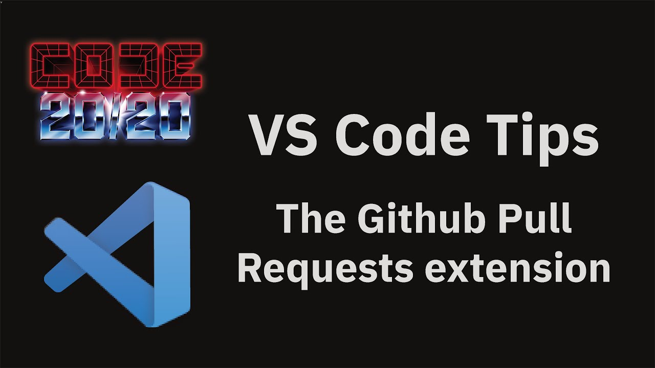 The Github Pull Requests extension