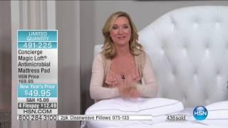 HSN | Concierge Collection Bedding 01.06.2017 - 11 AM