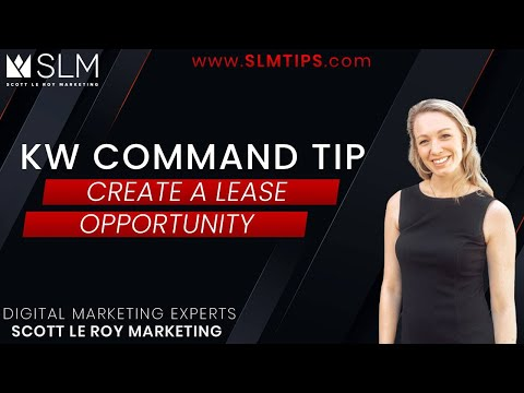 Command Tip - Create a Lease Opportunity