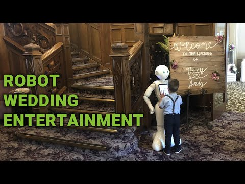 Robot Wedding Entertainment
