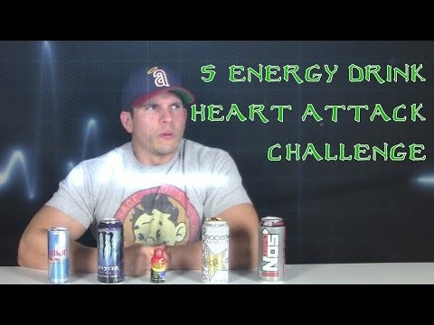 5 Energy Drink Chug Challenge *WARNING DO NOT ATTEMPT*