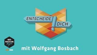 Entscheide dich! mit Wolfgang Bosbach | NEO MAGAZIN ROYALE mit Jan Böhmermann - ZDFneo