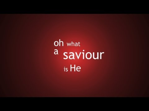 Oh What a Saviour- New Scottish Hymns - Backing Track (No Vocals)