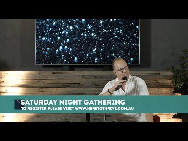 Thrive Church Online | 20th February | Brad Hagan