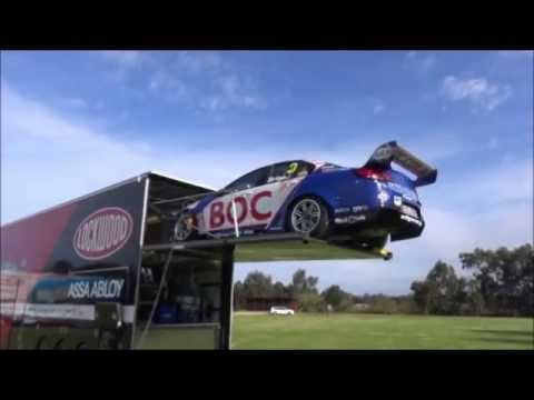 Freightliner and Brad Jones Racing Photoshoot