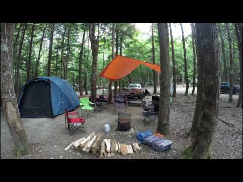 Camping At Kejimkujik National Park