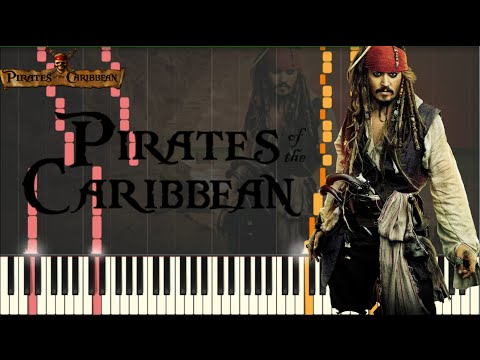 Pirates of the Caribbean Medley INTENSE VERSION [Piano Tutorial] (Synthesia) + SHEETS/MIDI