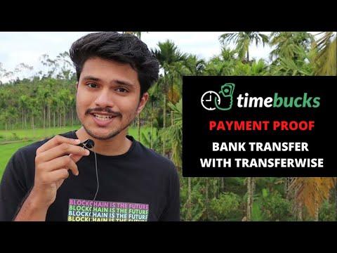 Transferwise Review - Receive TimeBucks Money in Bank Account   TimeBucks Paymen