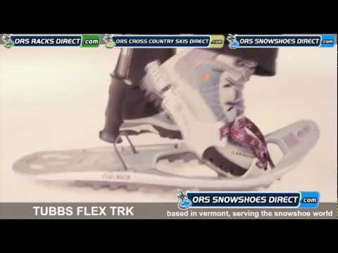 2012 Tubbs Flex TRK Snowshoes Video - ORS Snowshoes Direct