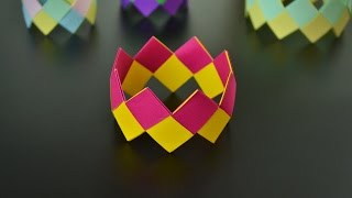 Origami: Bracelet - Instructions in English (BR)