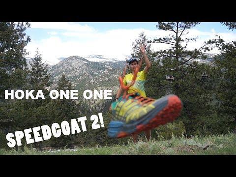 Highlights of the new HOKA ONE ONE SPEEDGOAT 2 Trail Shoe!
