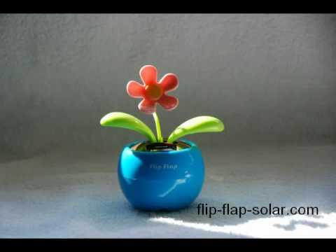 flip flap solar flower