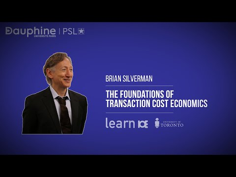 SILVERMAN / The Foundations of Transaction Cost Economics