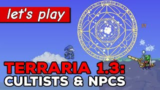 Lunatic cultists, new skeleton merchant & tax collector NPCs | Terraria 1.3 gameplay part 3