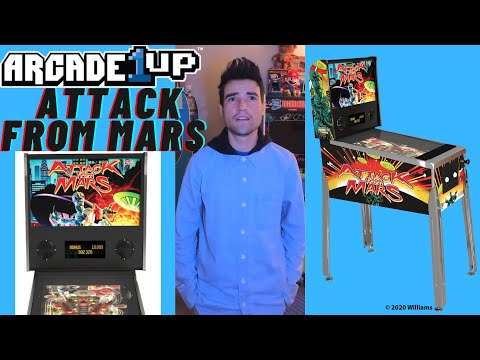 ARCADE1UP ATTACK FROM MARS PINBALL NOW AVAILABLE from Brick Rod