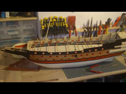 Building HMS Sovereign of the Seas