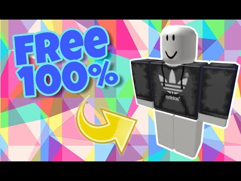 Roblox How To Get The Black Adidas Shirt For Free Roblox Youtube
