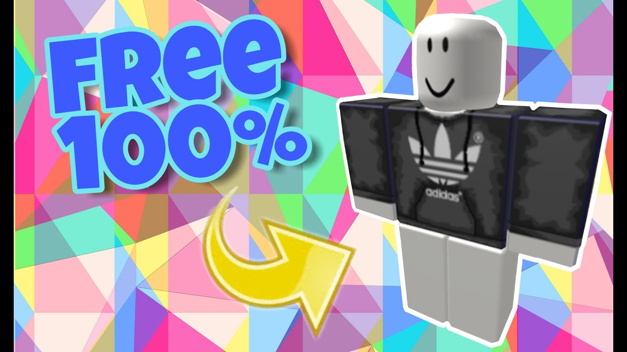 7111a2bcbda ROBLOX - How to get the black adidas shirt for free | ROBLOX - YouTube
