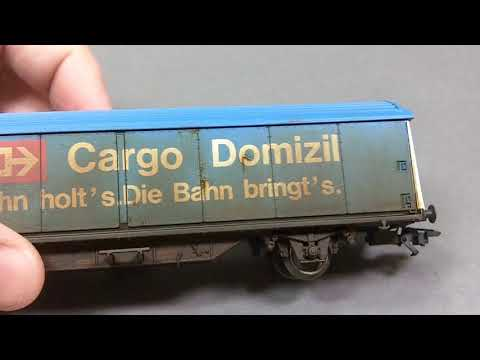 Weathering a Boxcar part 1