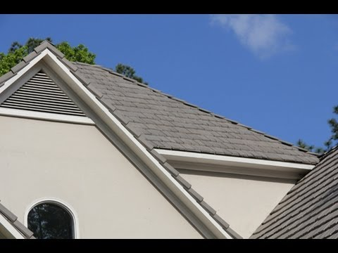 Installing Synthetic Shake Roofing