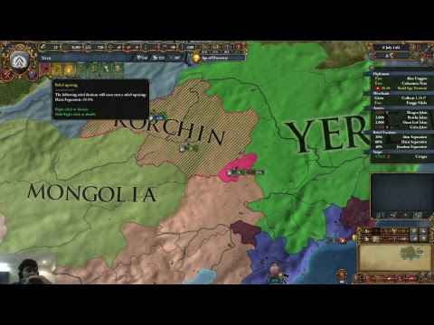 EU4 Qing of China 1:  Manchu Mission