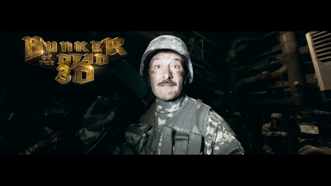 Bunker of the dead in 3D 2015 Full Length Movie