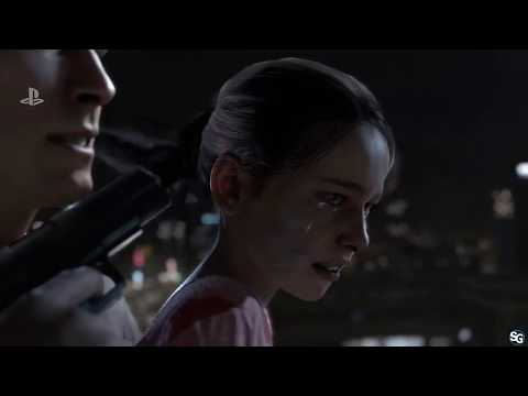 Detroit: Become Human Gameplay w/ Audience Choices - PSX 2017 HD