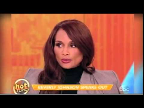 Beverly Johnson tells The View about...