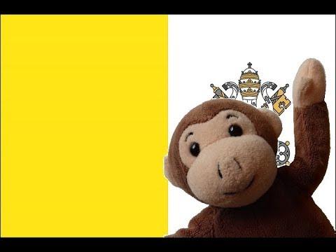 Globe Monkey goes to Vatican City
