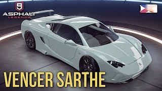 ASPHALT 9: LEGENDS - Car Hunt Vencer Sarthe Unlocked