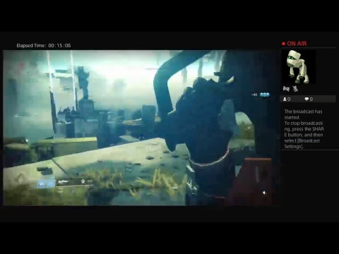GettinSchwifty20's Live PS4 Broadcast Destiny2 COO