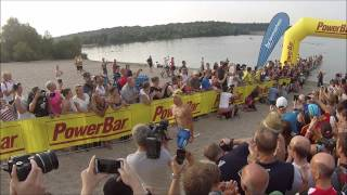 Ironman Frankfurt 2015: Pro Men Swim
