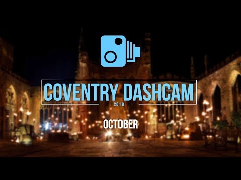 Coventry Dash Cam 2018 - October - UK Poor Driving & Amusing Observations